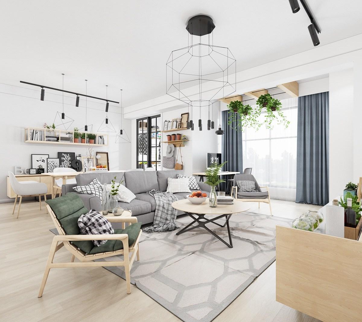 Las plantas aportarán vida a tu casa Nórdica
