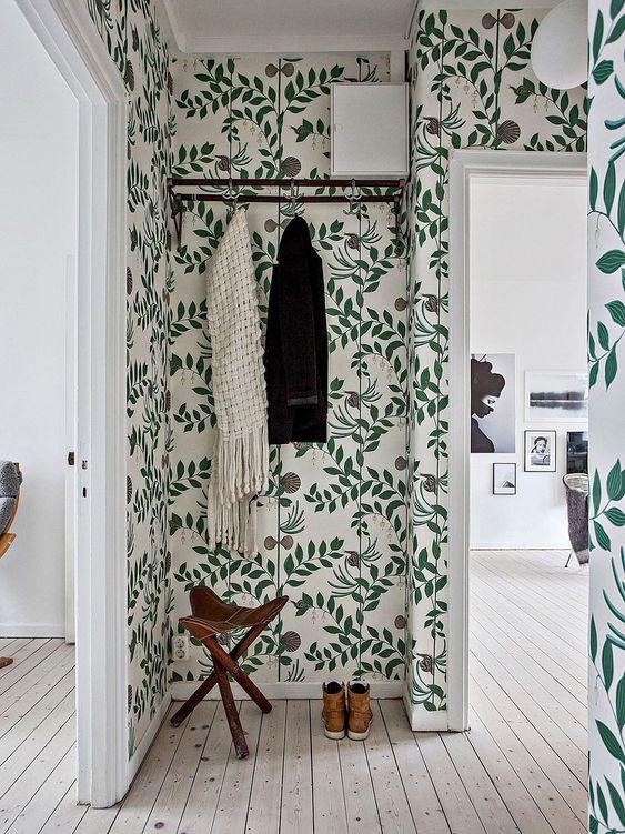 Estilo de decoración Pinterest para un recibidor
