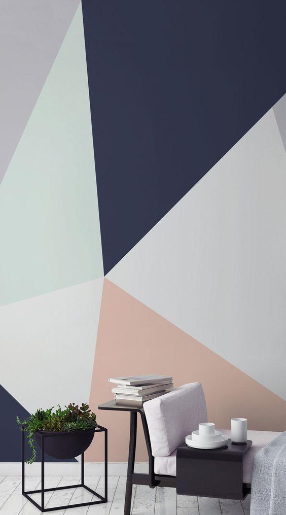 Mural geométrico