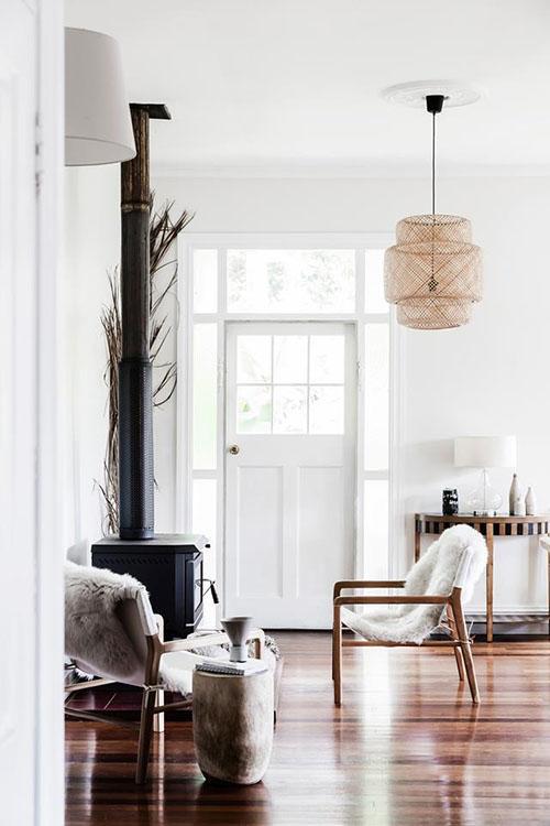 Ejemplo de lámpara de estilo Nórdico