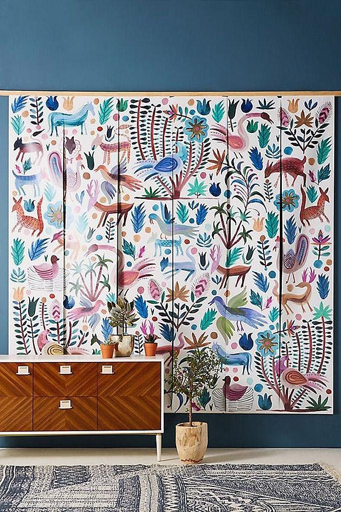 Cuadros adornando las paredes