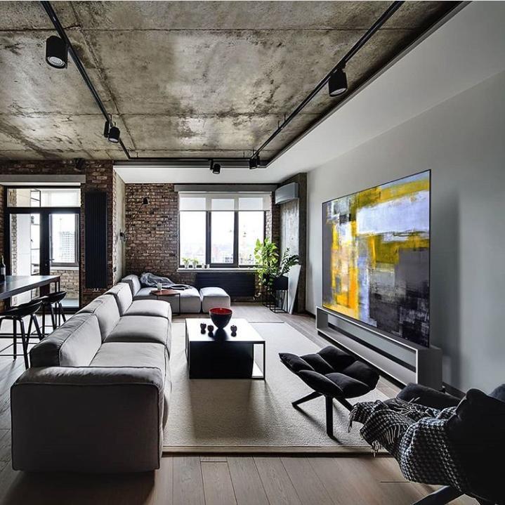 ¡Las claves de la Decoración industrial! Descubre como decorar tu salón con un estilo Industrial.