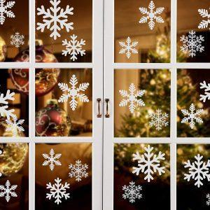 Copos de nieve para ventana
