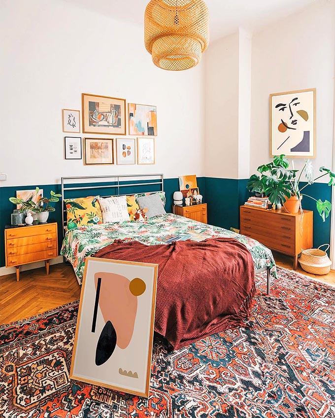 Como conseguir el dormitorio Boho Chic perfecto. ¿Quieres perderte como hacerlo por poco dinero?