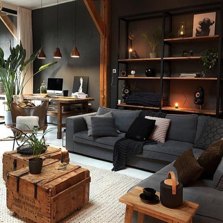 ¿Conoces las claves de la decoración industrial? Te mostramos como convertir tu casa al estilo industrial.