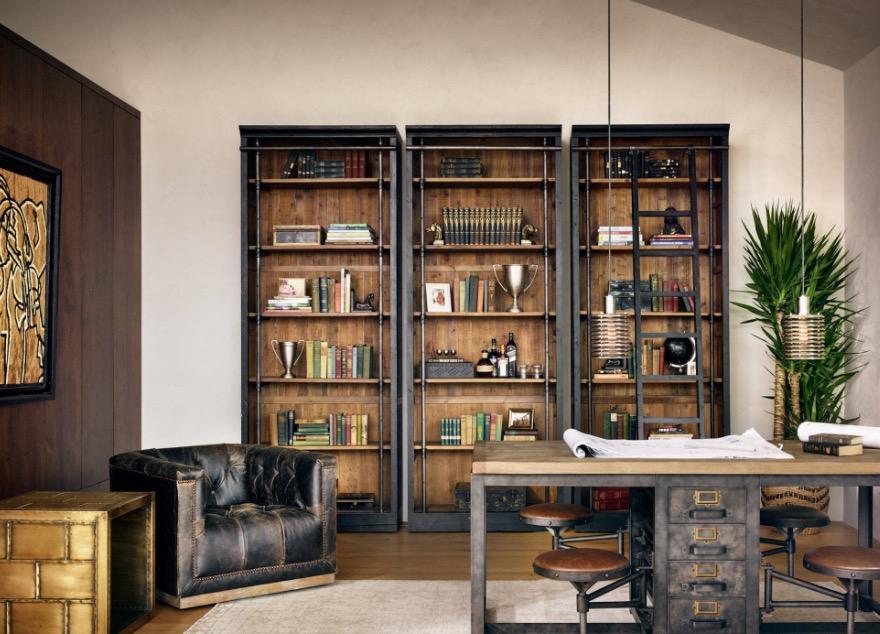 ¡Las claves de la Decoración industrial! Un sofá de cuero es un elemento imprescindible al decorar tu casa.